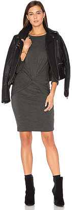 amour vert Priscilla Dress in Charcoal $138 thestylecure.com