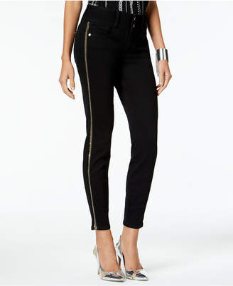 Thalia Sodi Striped Skinny Jeans, Created for Macy's