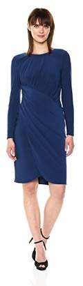 Adrianna Papell Women's Matte Jersey Draped Wrap Skirt