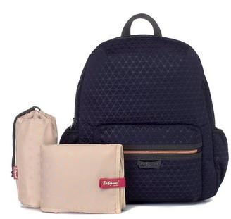Storksak Luna Ultra-Lite Diaper Bag Backpack Navy Scuba
