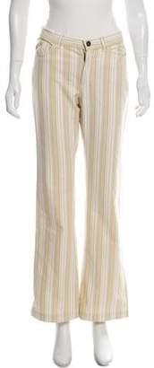 Max Mara Weekend Mid-Rise Stripe Jeans