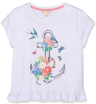 Yumi Girl's Anchor Floral Tee () T-Shirt