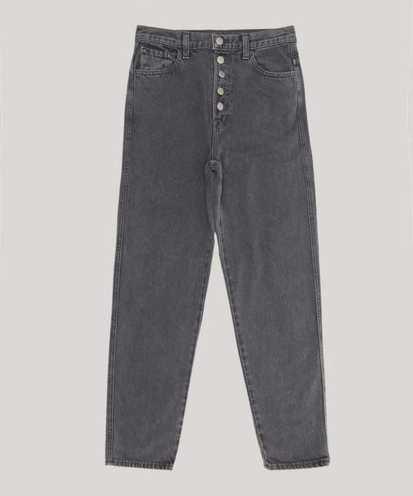 Heather Crop Straight Jean