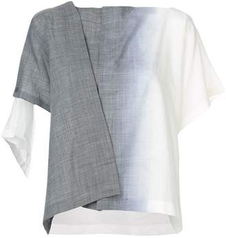 Issey Miyake 132 5.  IL76FD662 12 GRAY ??? Synthetic->Polyester