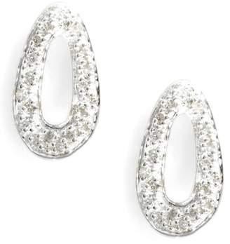 Ippolita Cherish Diamond Pave Link Stud Earrings