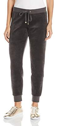 Juicy Couture Black Label Women's Bling Slim Velour Pant $38.19 thestylecure.com