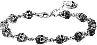 Thomas Sabo Rebel At Heart zirconia and sterling silver bracelet