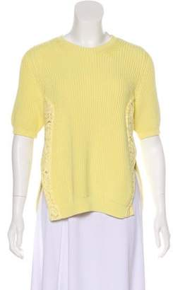 No.21 No. 21 Lace Embellished Sweater