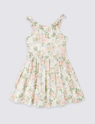 Marks and Spencer Floral Print Prom Dress (3-16 Years)