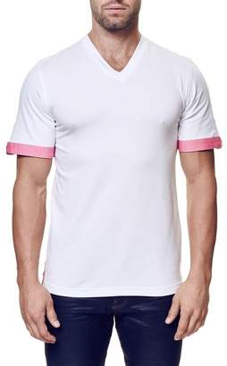 Maceoo V-Neck Contemporary Fit Tee (Big & Tall Available)