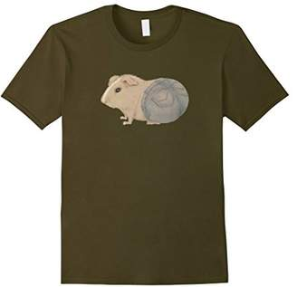 Guinea Pig in Jeans T-shirt
