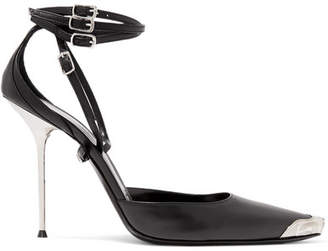 Alexander Wang Selena Leather Pumps - Black