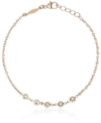 Jacquie Aiche Diamond and 14K gold tennis bracelet