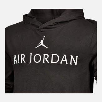 Nike Boys' Air Jordan Wings Long-Sleeve Hooded T-Shirt