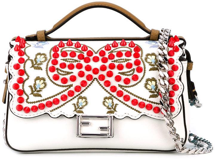 FendiFendi Baguette embellished bag