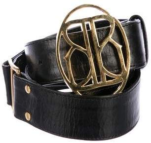 Bing Bang Leather Hook Belt