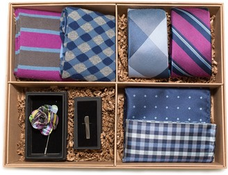 The Tie Bar The Azalea And Navy Style Box