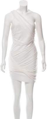 Alice + Olivia One-Shoulder Mini Dress w/ Tags