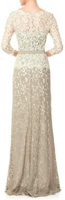 Tadashi Shoji Lace Gown $388 thestylecure.com
