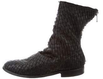 Guidi Woven Leather Boots