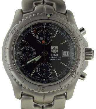 Tag Heuer CT5111 Automatic Link Chronometer Black Dial Mens Watch