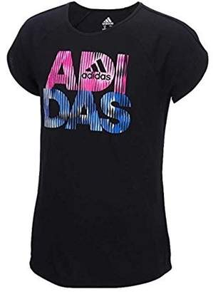 adidas Active Short Sleeve T-Shirt for Girls (M(10/12), )