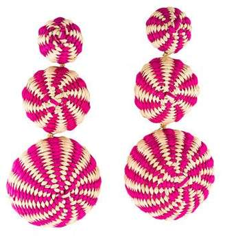 Mercedes Salazar Fiesta Tropical Earrings