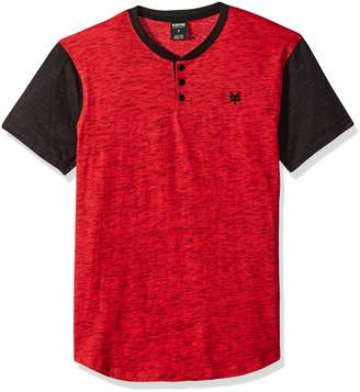 Zoo York Young Men's Quill Short Sleeve Henley Shirt