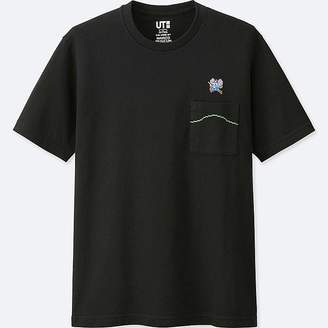 Uniqlo The Game By Namco Museum Short-sleeve Graphic T-Shirt (mappy)