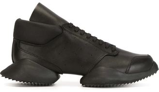 Rick Owens x Adidas 'Tech Runner' sneakers $790 thestylecure.com
