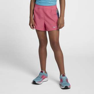 Nike Dri-FIT Big Kids (Girls) Printed Running Shorts