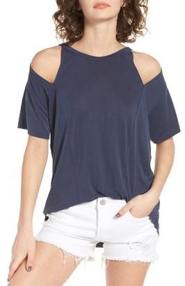 Women's Lna Cold Shoulder Tee $92 thestylecure.com