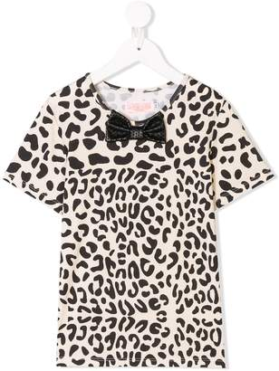 Leon WAUW CAPOW by BANGBANG leopard print T-shirt
