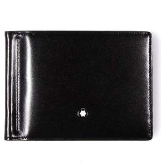 Montblanc Mont Blanc Meisterstuck 6 CC Mens Leather Wallet with Money Clip