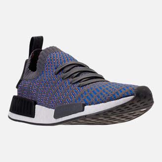 adidas Men's NMD Runner R1 STLT Primeknit Casual Shoes