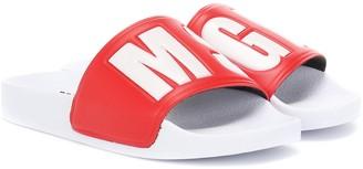 MSGM Kids Ciabatta slides