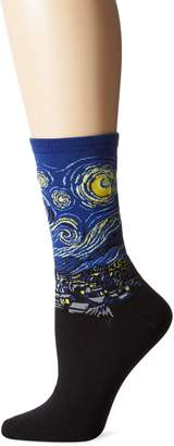 Hot Sox Collection Starry Night Trouser Sock ( One Size)