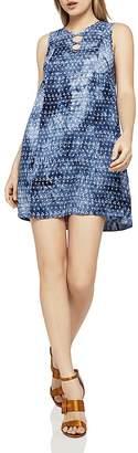 BCBGeneration Sleeveless Tie-Dye A-Line Dress