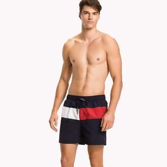 Tommy Hilfiger Flag Mid-Length Swim Trunk