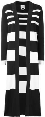 Edward Achour Paris striped long cardigan