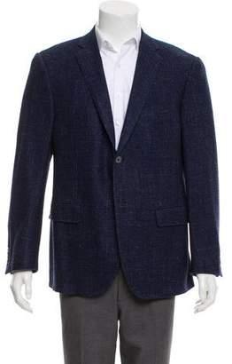 Corneliani Tweed Wool Blazer