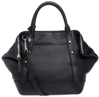 Mackage RAFFA Double-handle satchel with removable crossbody strap