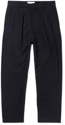 Universal Works Tapered Pleated Cotton-Ripstop Trousers