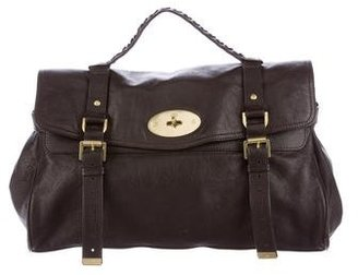 Mulberry Leather Alexa Bag $625 thestylecure.com