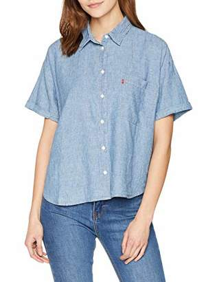 ee9152292fb Women Light Blue Shirt Blouse - ShopStyle UK
