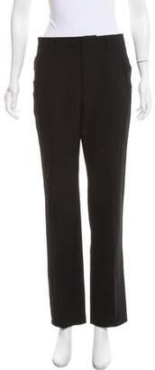 Givenchy Mid-Rise Straight-Leg Pants
