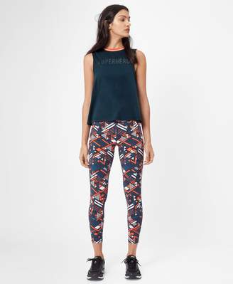 Sweaty Betty Flow Cropped Rib Trim Tank