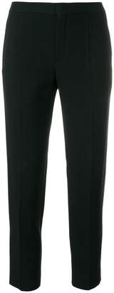 Chloé cropped pleated trousers