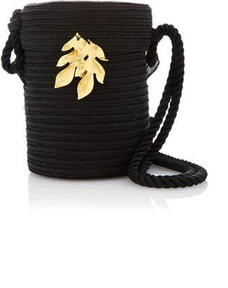 Rebecca de Ravenel M'O Exclusive Embellished Straw Bag