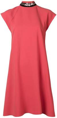 Emporio Armani flared regular length dress